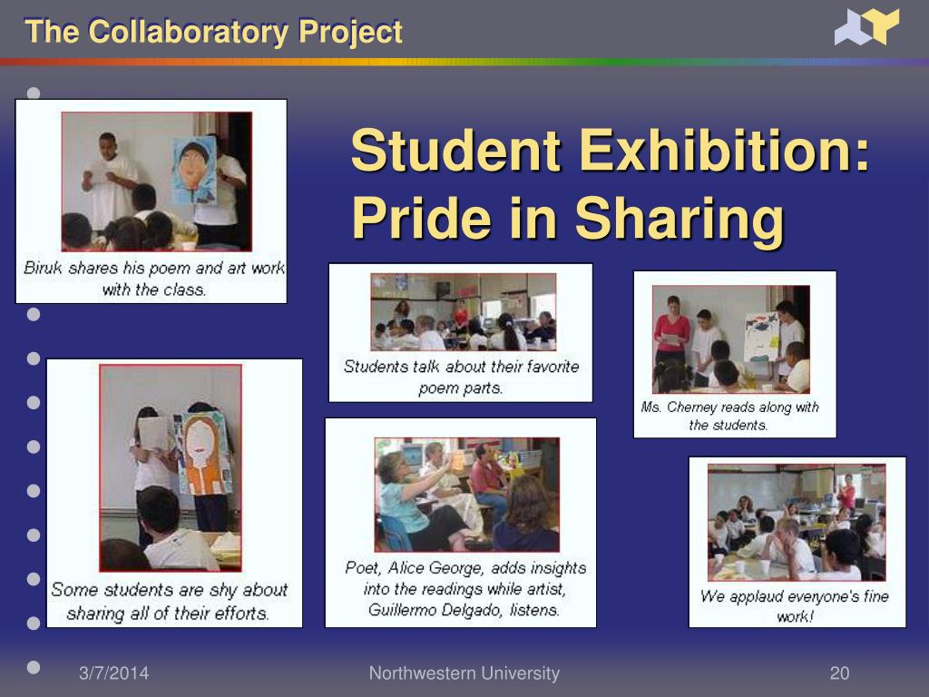 Student Exhibition: Pride in Sharing