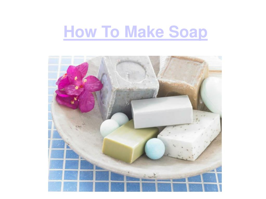 how to make soap l.