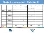 studio arts assessment units 3 and 4
