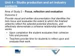 unit 4 studio production and art industry contexts2
