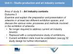 unit 4 studio production and art industry contexts3