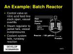 an example batch reactor