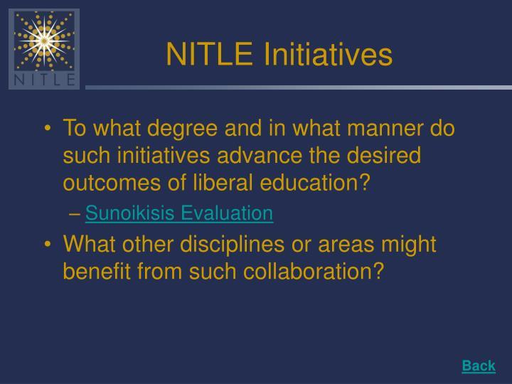 NITLE Initiatives