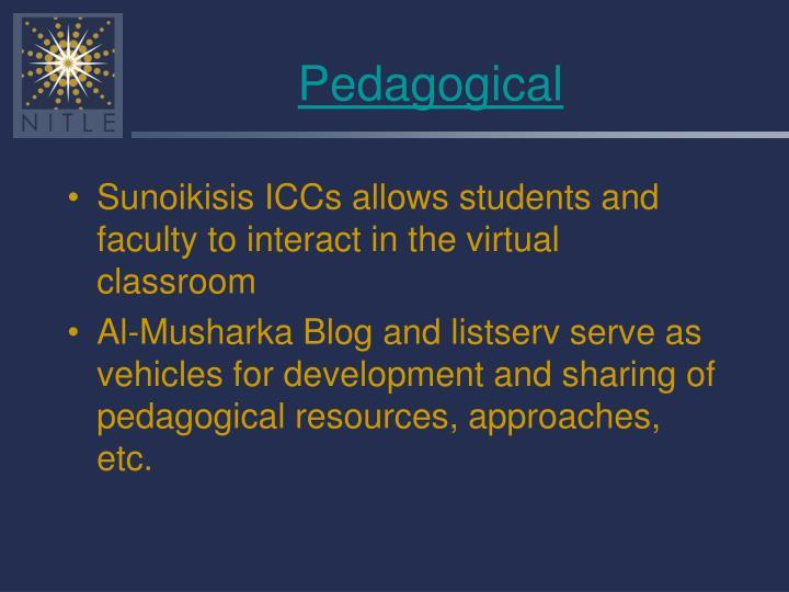 Pedagogical