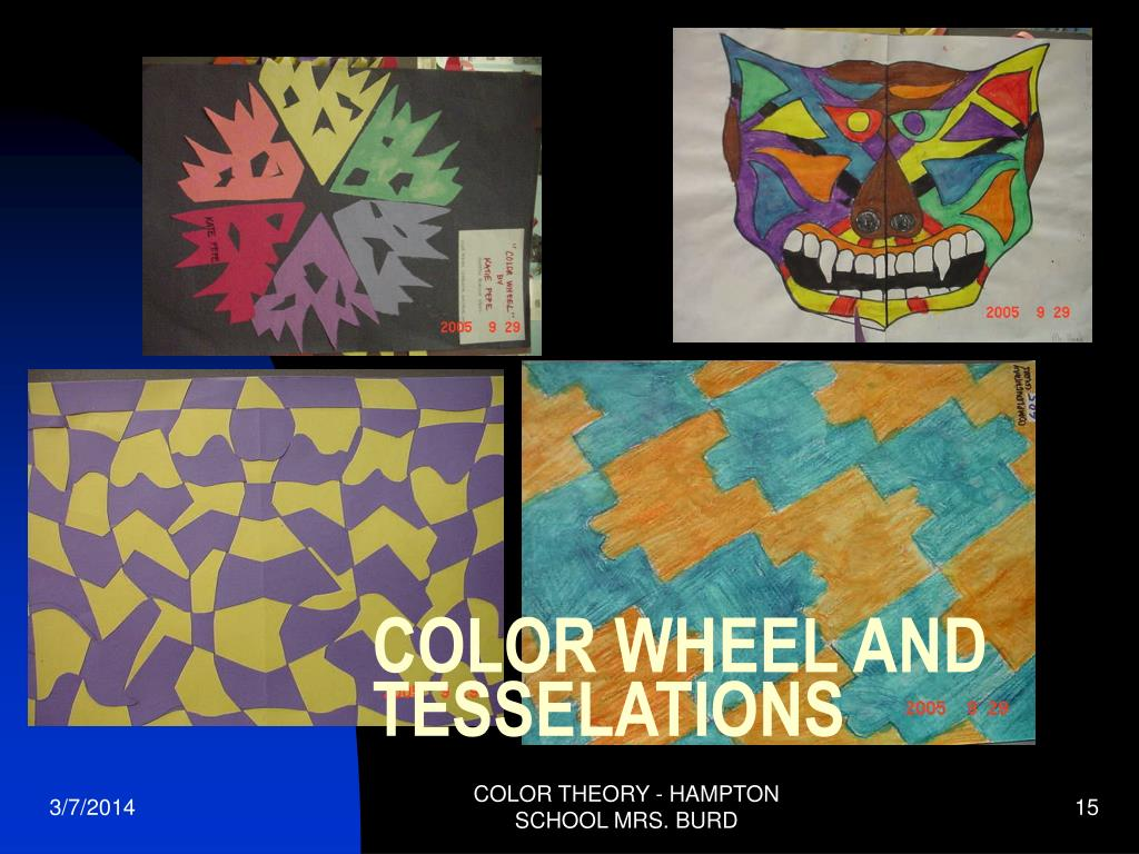 COLOR WHEEL AND TESSELATIONS