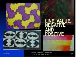 line value negative and positive