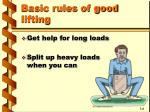 basic rules of good lifting5