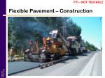 flexible pavement construction