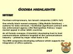 godisa highlights