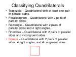 classifying quadrilaterals81