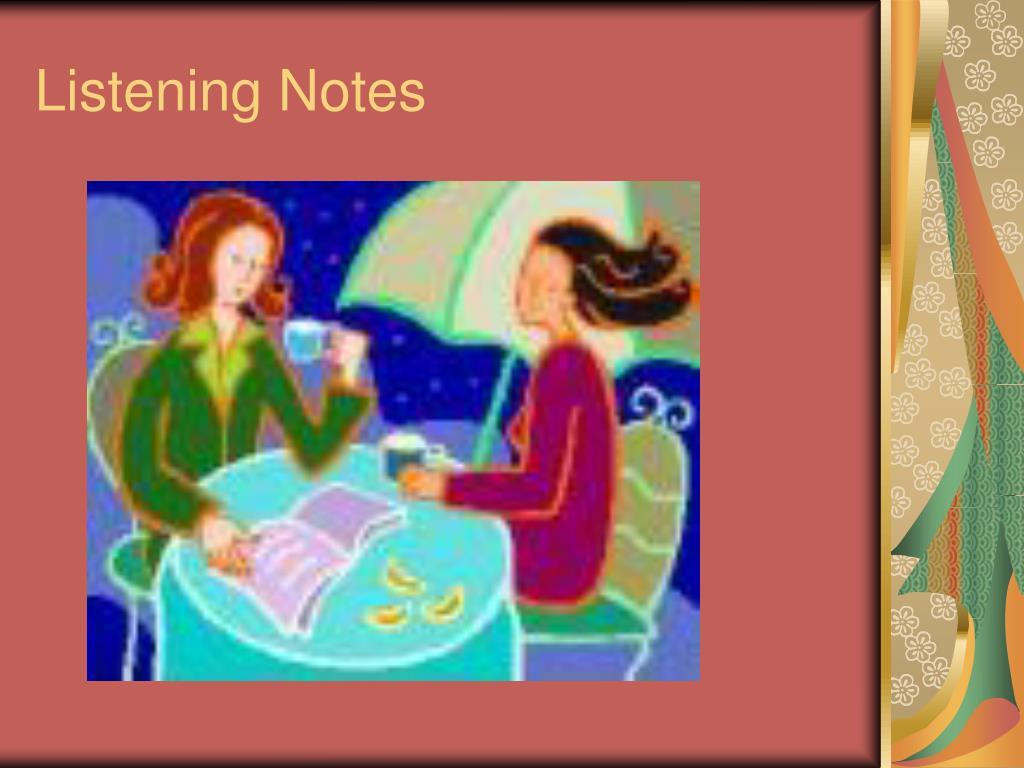 listening notes l.