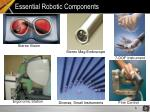 essential robotic components