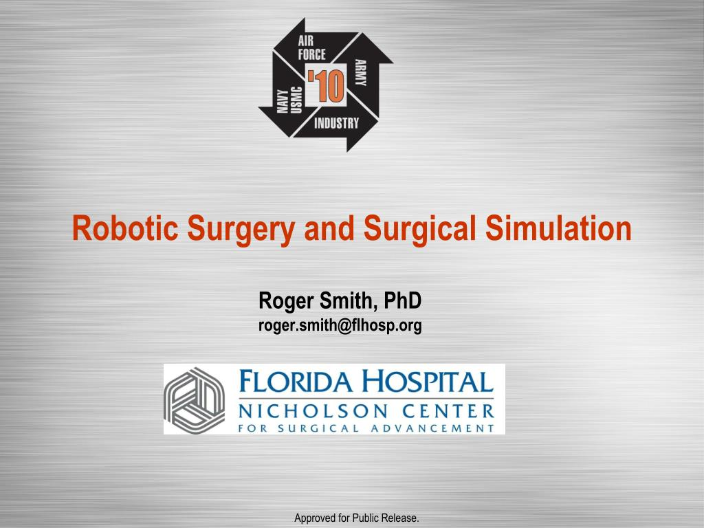 robotic surgery and surgical simulation l.