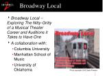 broadway local