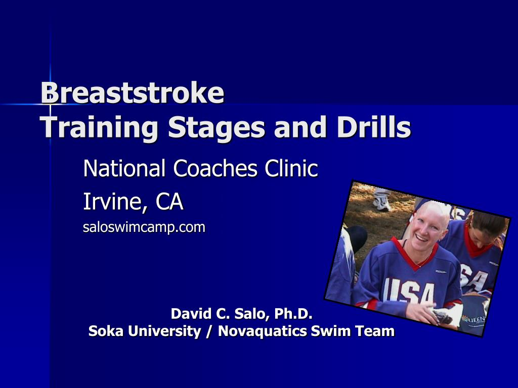 breaststroke training stages and drills l.