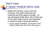 dax s case a classic medical ethics case52
