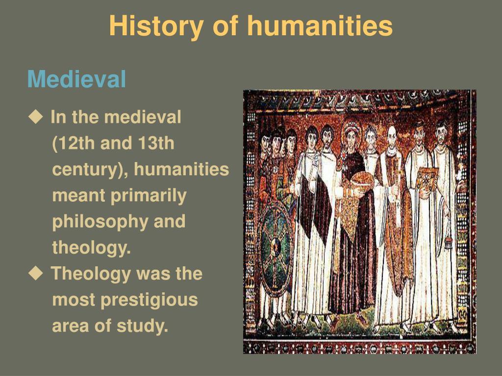 History of humanities