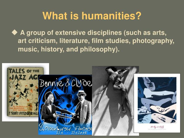 What is humanities