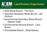 land division organization