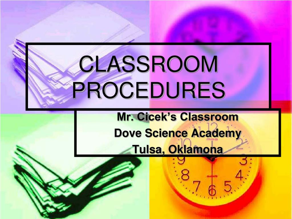 classroom procedures l.