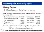 completing the accounting cycle37
