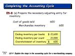 completing the accounting cycle38