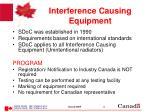 interference causing equipment