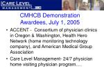 cmhcb demonstration awardees july 1 2005