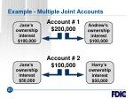 example multiple joint accounts21
