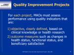 quality improvement projects69