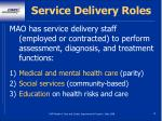 service delivery roles19