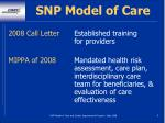 snp model of care6