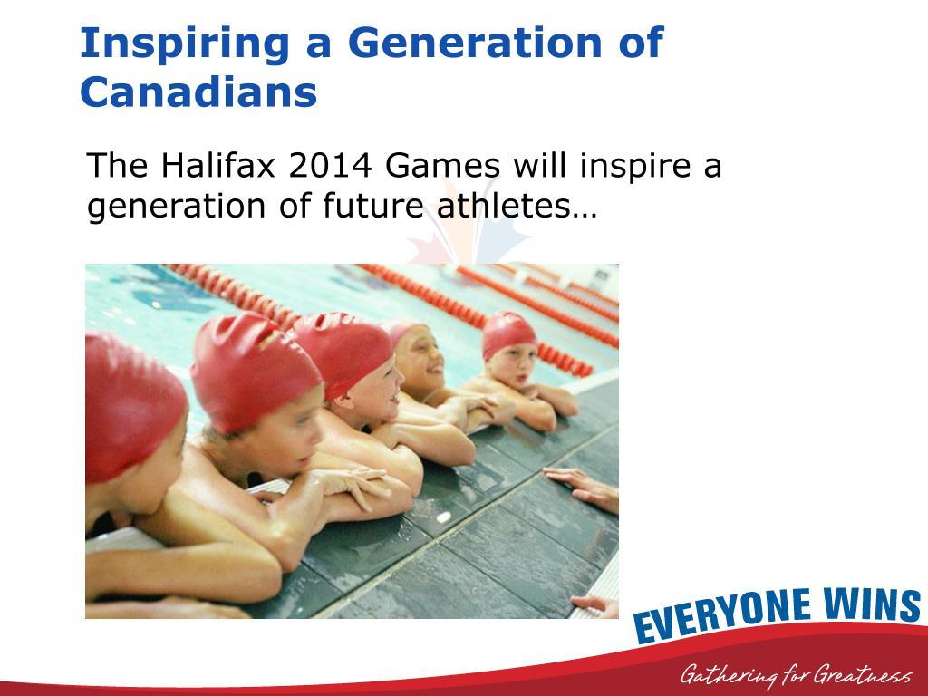 Inspiring a Generation of Canadians