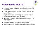 other trends 2006 07