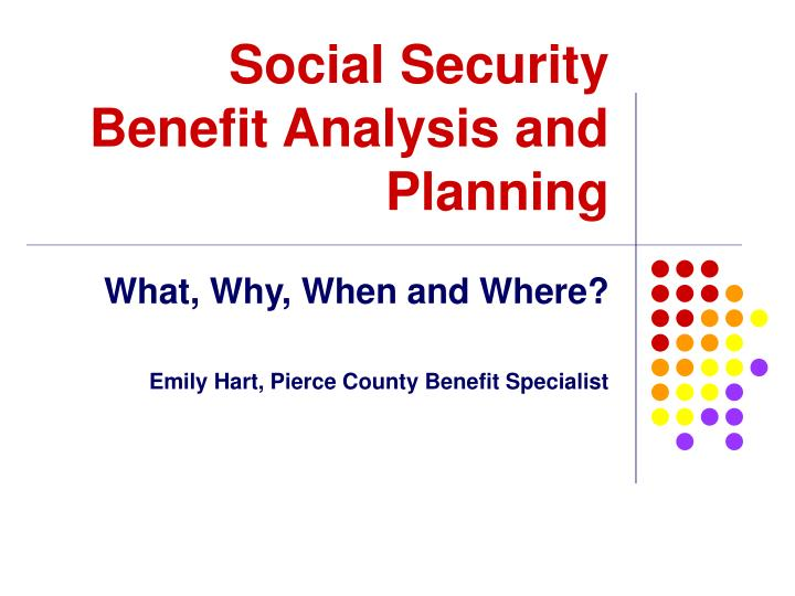 an analysis of social security This analysis of the social security system probably underestimates the total costs of the current system earnings for workers in each state are assumed to be a proportion of social security's average wage index15 for employed and self-employed workers.