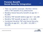pension benefit social security integration28