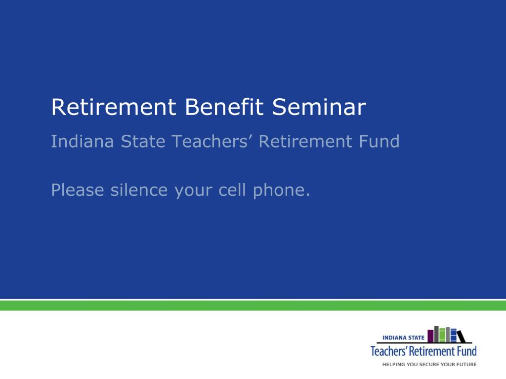 retirement benefit seminar l.