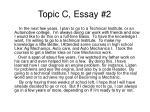topic c essay 2