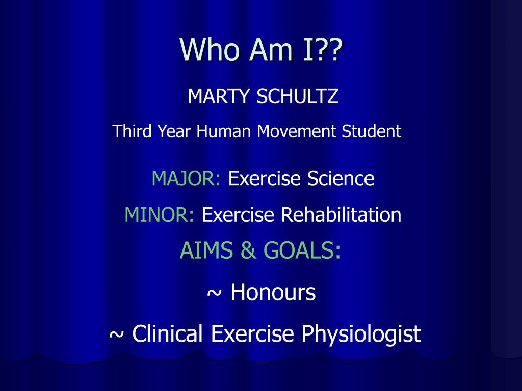 who am i l.