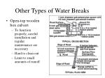 other types of water breaks23