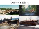 portable bridges