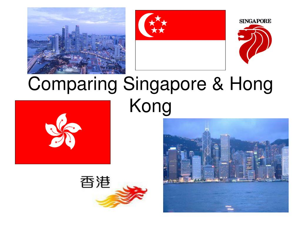 comparing singapore hong kong l.
