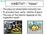 habitat home