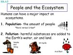 people and the ecosystem