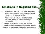 emotions in negotiations