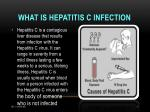 what is hepatitis c infection