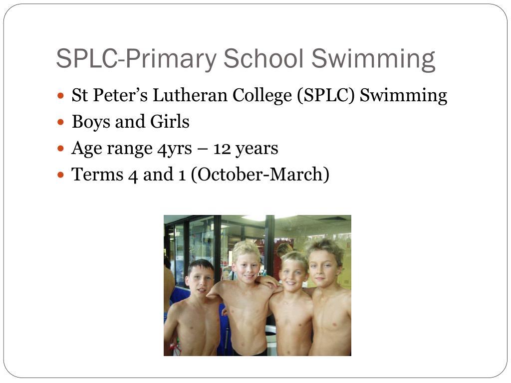 SPLC-Primary School Swimming