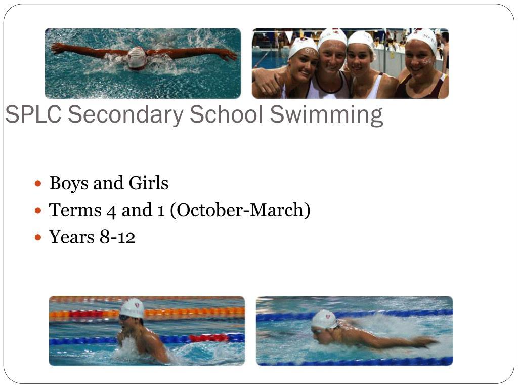 SPLC Secondary School Swimming