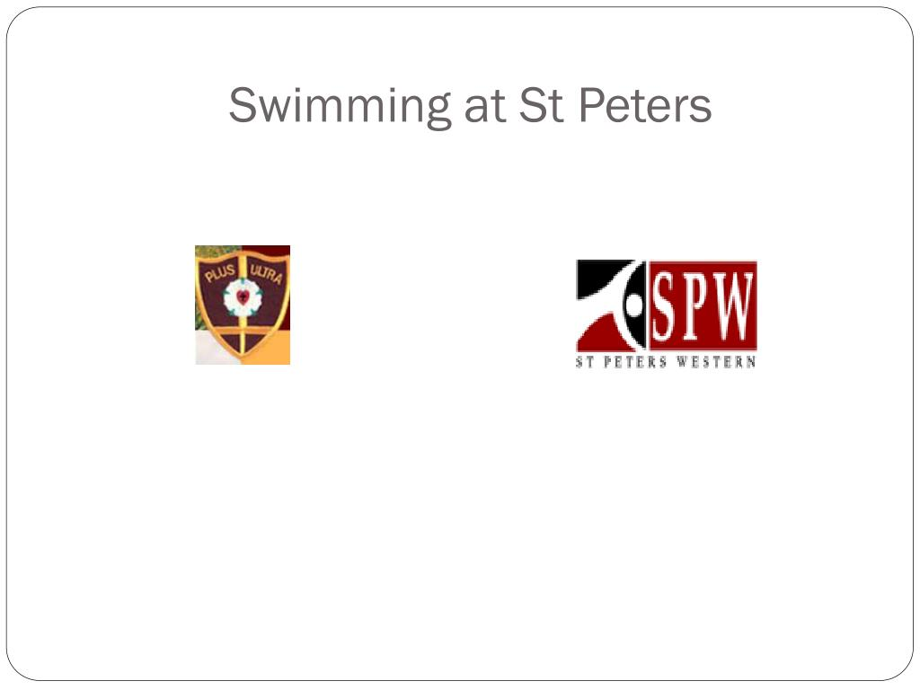 Swimming at St Peters