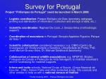 survey for portugal21